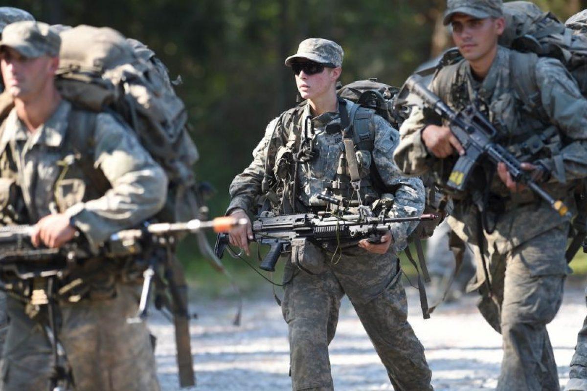 Griest es primera teniente y tiene 26 años. Foto:AP. Imagen Por: