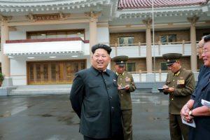Kim Jong-un, líder de Corea del Norte Foto:AFP. Imagen Por: