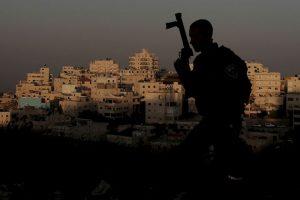 Guardia fronterizo israelí. Foto:AFP. Imagen Por: