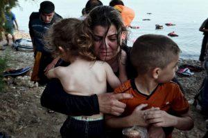 Migrantes en Grecia. Foto:AFP. Imagen Por: