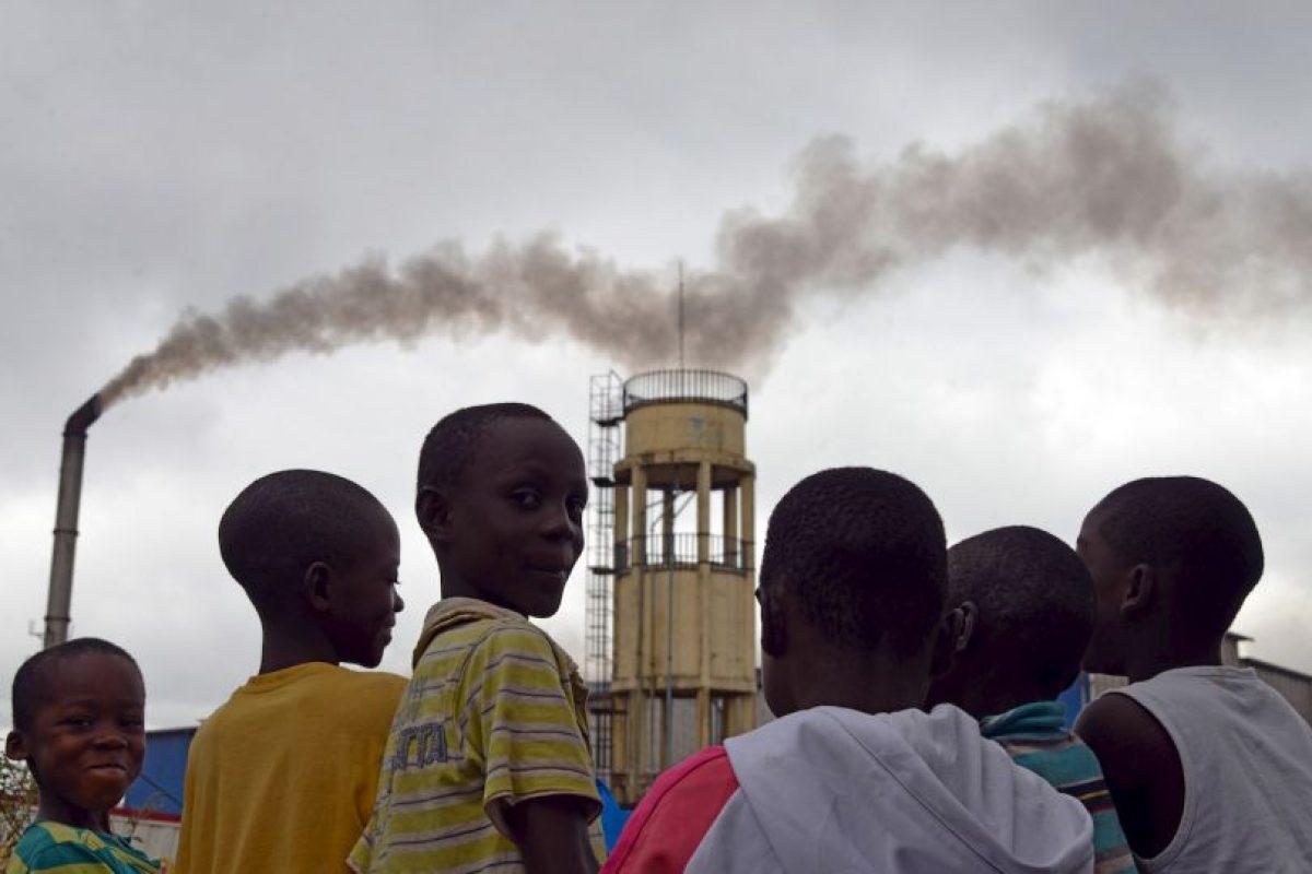 Niños en Abidjan. Foto:AFP. Imagen Por: