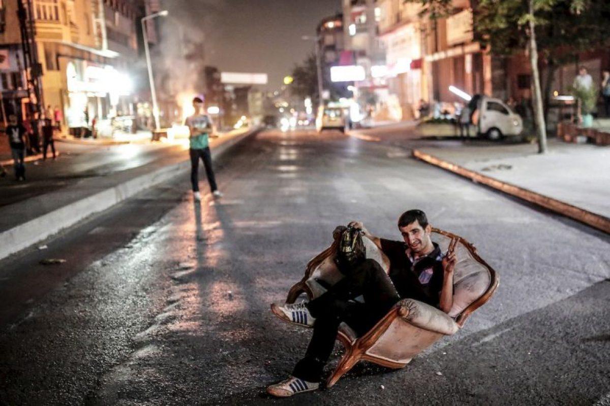Manifestante en Turquía. Foto:AFP. Imagen Por: