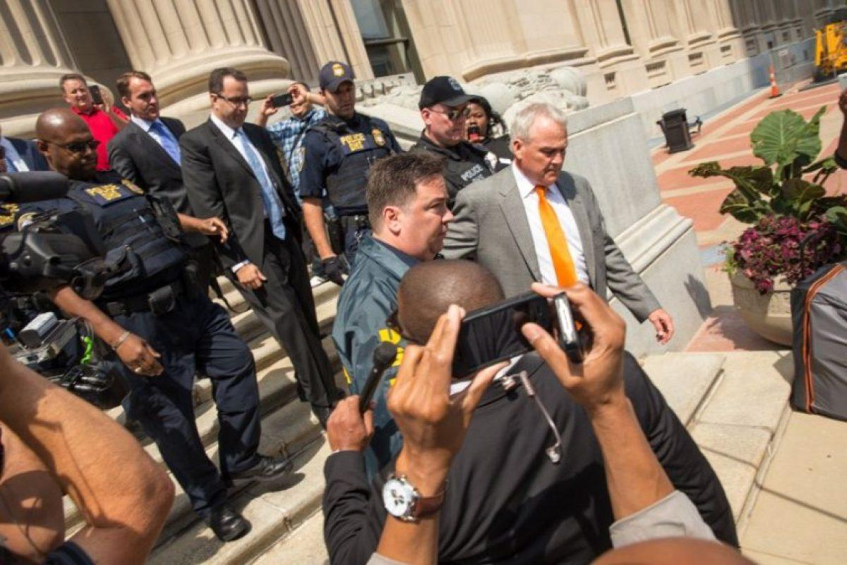 Se declaró culpable de delitos relacionados con pederastía como posesión de pornografía y tener relaciones con menores Foto:AFP. Imagen Por: