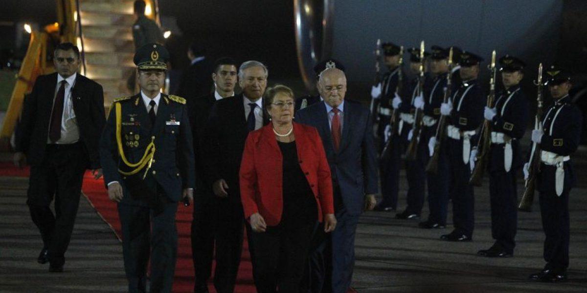 Firma de acuerdos con el presidente Cartes marcará visita de Bachelet a Paraguay