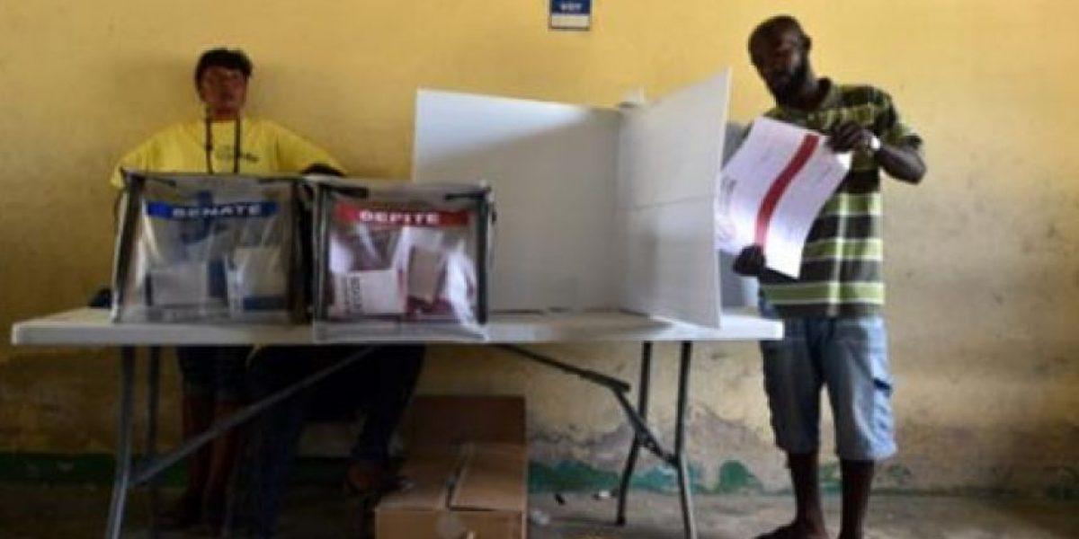 Repetirán elecciones legislativas en gran parte del territorio de Haití