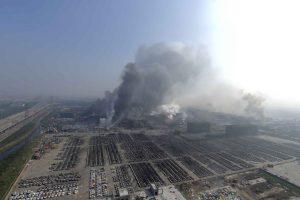 La contaminación de cianuro es severa dentro de la zona afectada. Foto:AP. Imagen Por:
