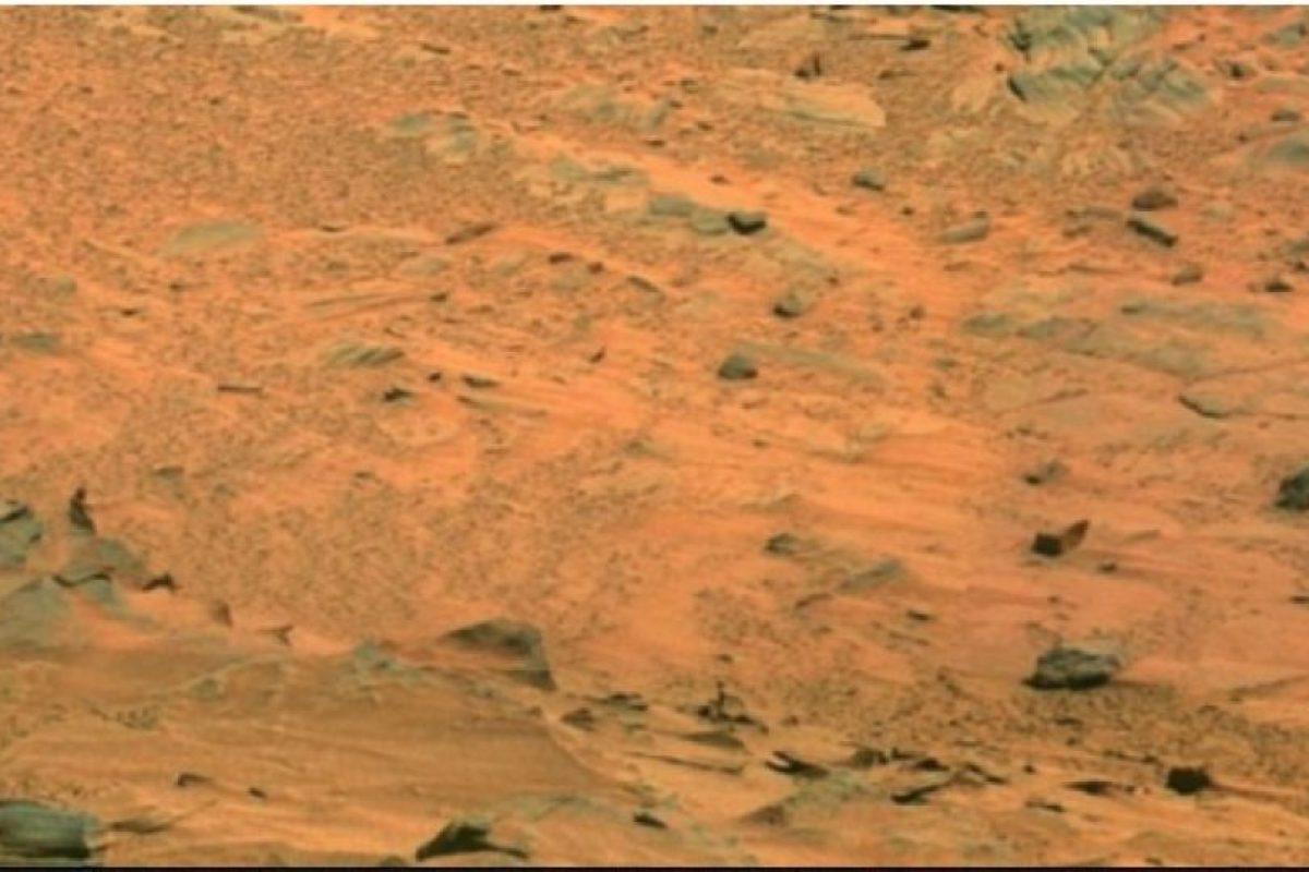 Fotografía original de la NASA, tomada por el explorador Spirit. Foto: Foto original http://photojournal.jpl.nasa.gov/jpeg/PIA10214.jpg. Imagen Por: