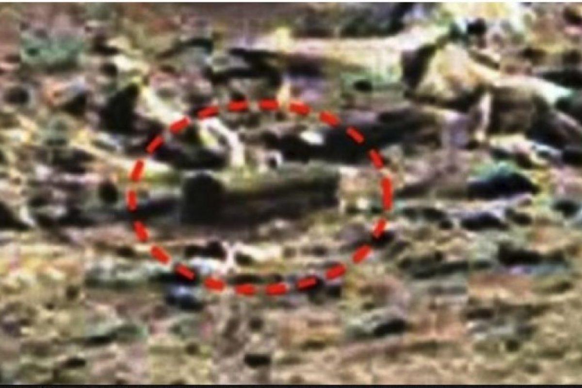 """Piedra con forma de ataúd. De acuerdo al sitio """"MundoMisterioso.net"""", esta supuesta caja se encontró en enero de 2015 Foto:NASA. Imagen Por:"""