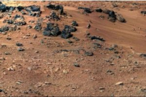 Fue descubierta en mayo de 2013 Foto:Foto original en http://www.nasa.gov/mission_pages/msl/multimedia/pia16204.html. Imagen Por: