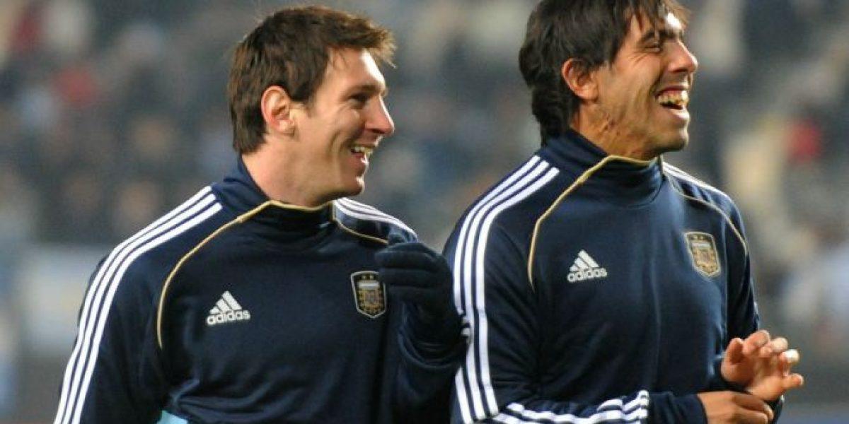 Tevez y críticas a Messi en Argentina: