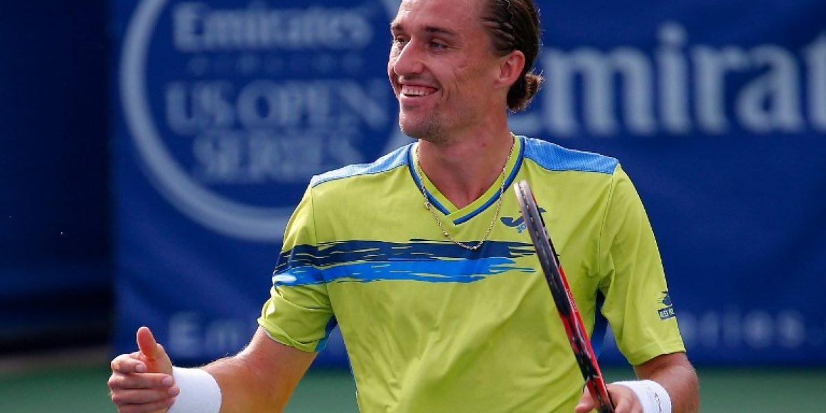 El ucraniano Dolgopolov sorprende a Berdych y se mete en semifinales de Cincinnati