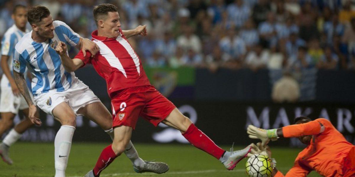 La liga española arrancó con un opaco empate entre Málaga y Sevilla