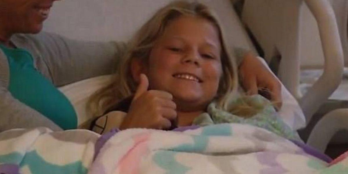 EEUU: niña de diez años ayudó a amiga pese a ser mordida por tiburón
