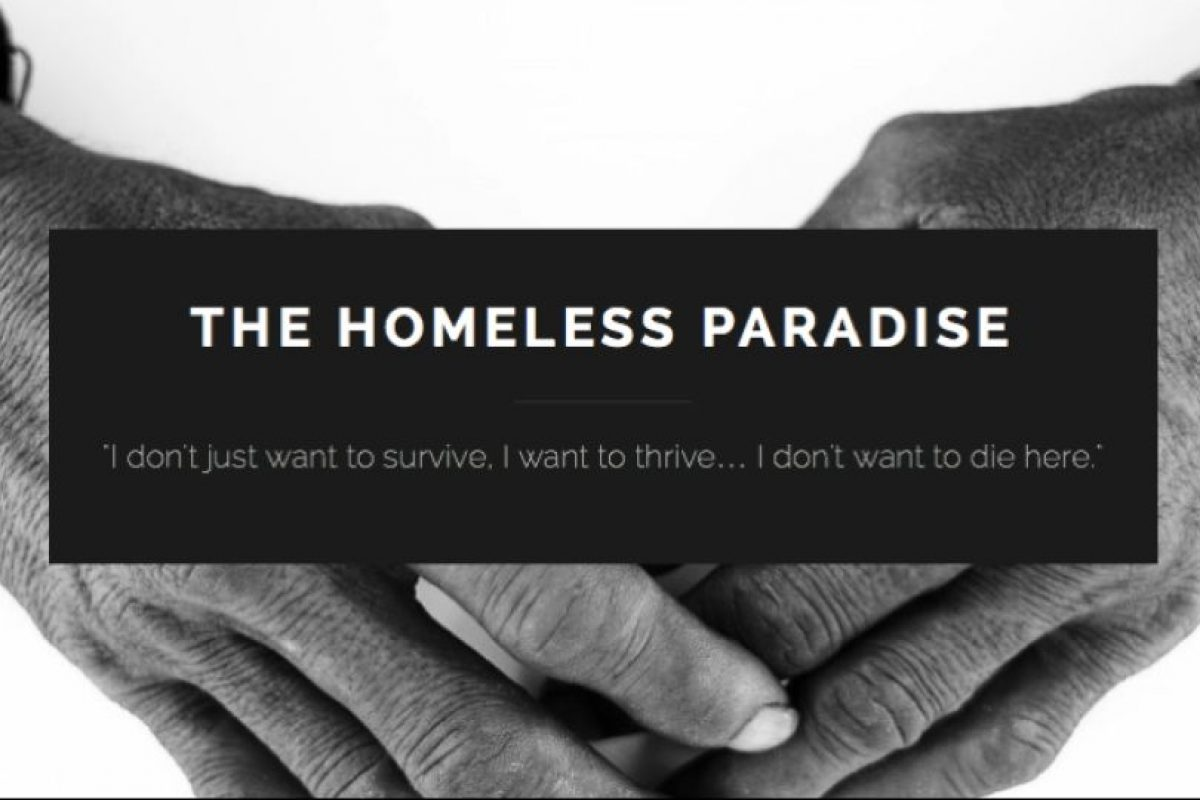 Es de Hawái. Foto:Vía Facebook.com/homelessparadise. Imagen Por: