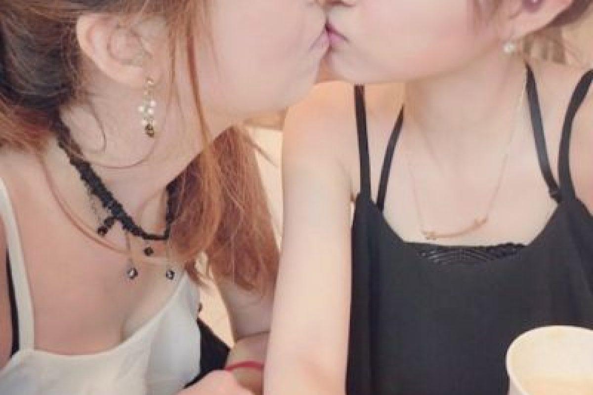 Miren cómo se besan. Foto:Vía Instagram/@pppig. Imagen Por: