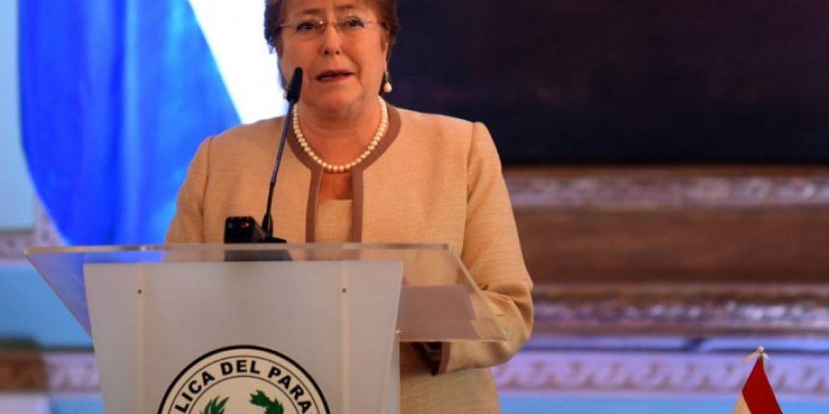 Bachelet en Paraguay: que Chile sea