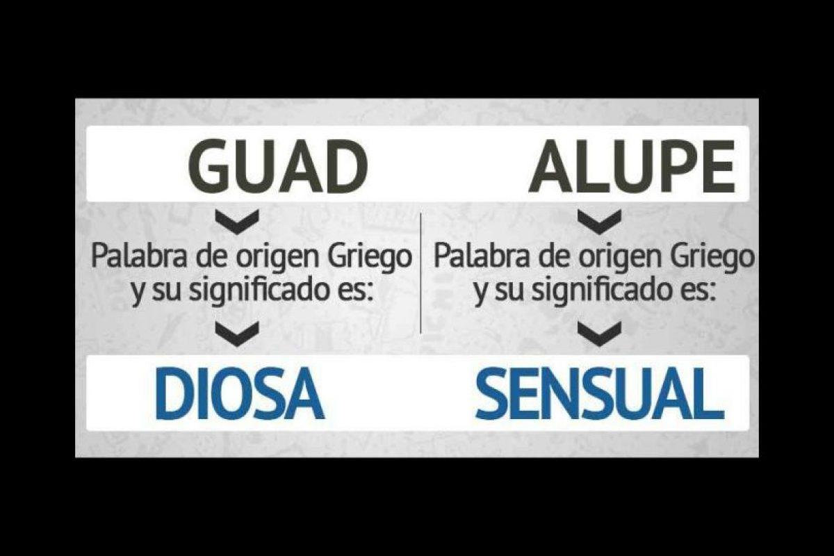 """¿Y qué significa """"Guadalupe""""? Bueno, sí es el nombre de una diosa… Foto:eWikin.com. Imagen Por:"""