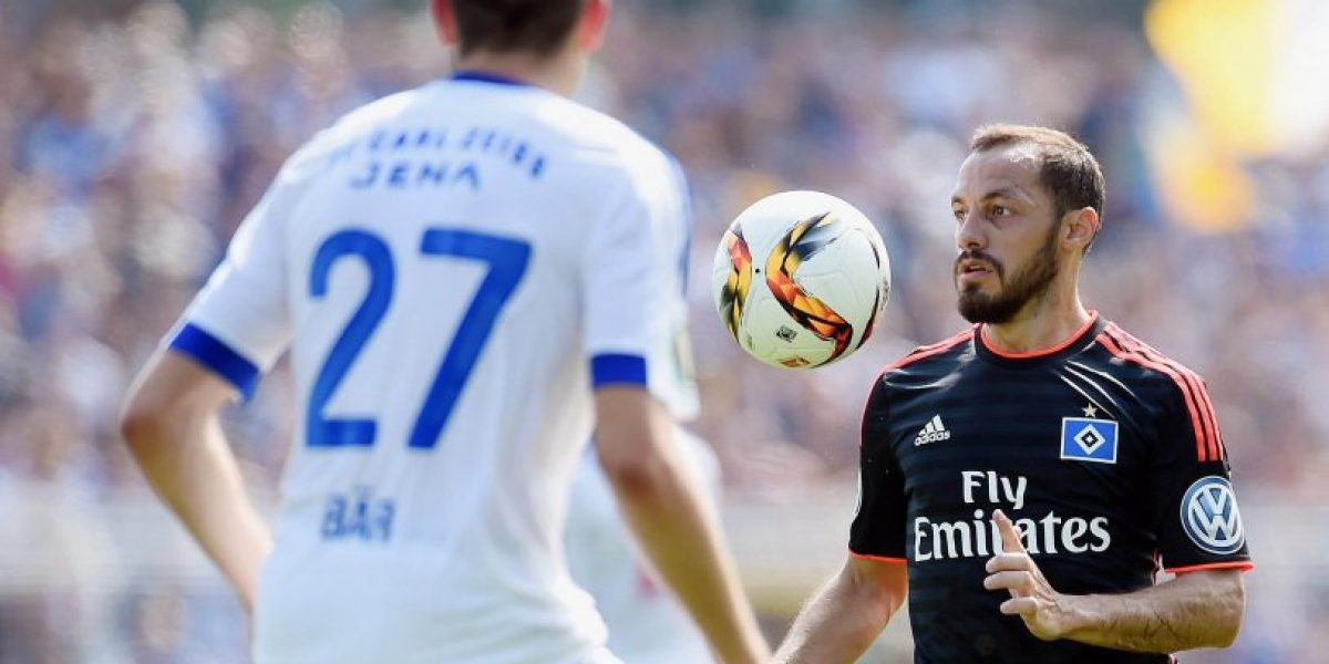 Hamburgo sin Marcelo Díaz derrotó en la agonía al Stuttgart