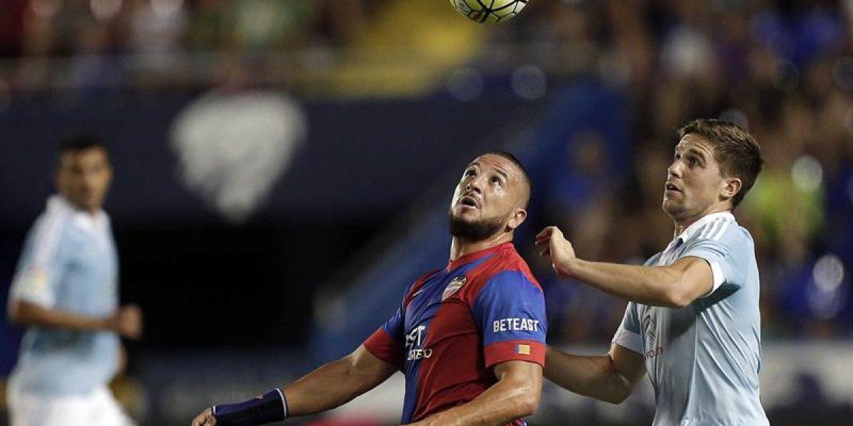 Fabián Orellana arrancó la temporada marcando un gol en victoria del Celta
