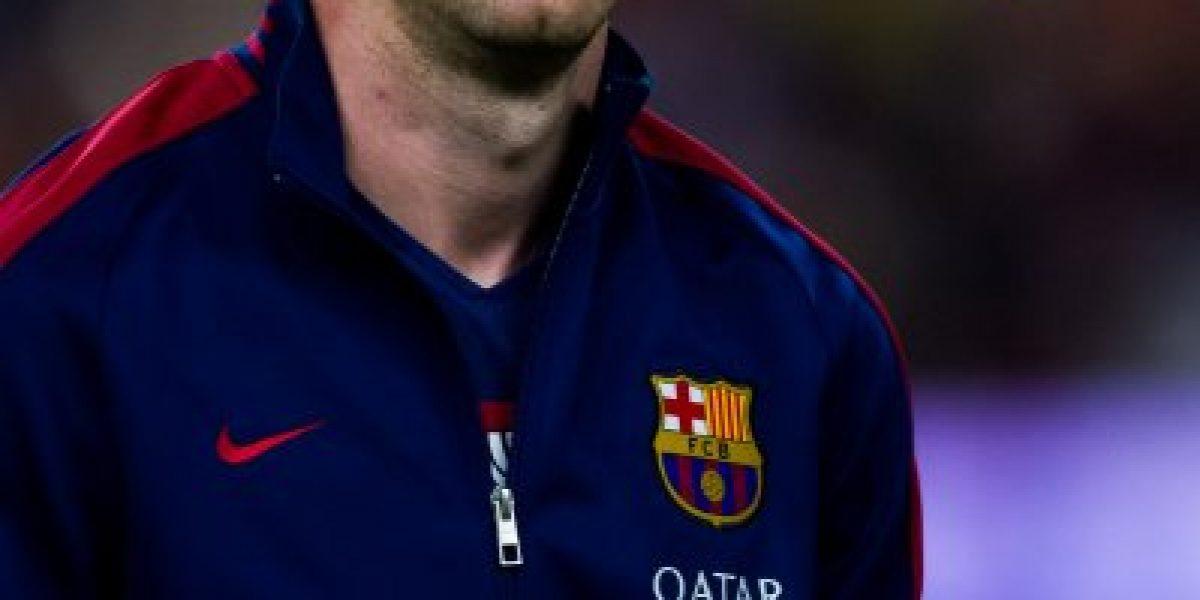 Leo Messi falla un penal en su debut con el Barcelona en la Liga de España