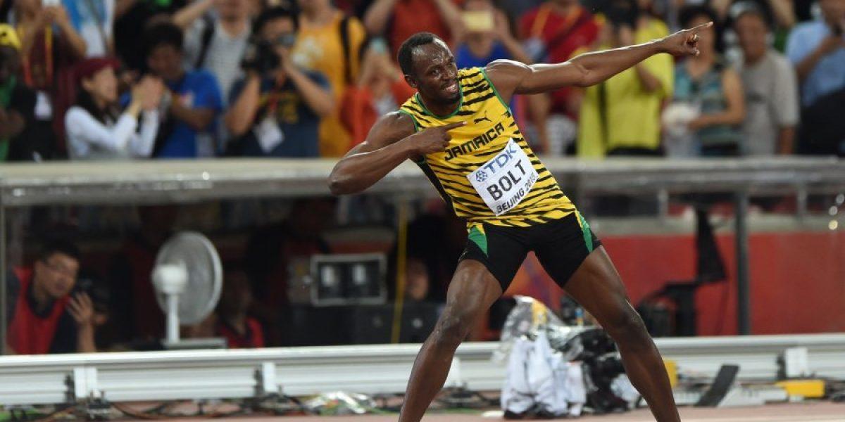 Usain Bolt gana el título de 100 metros en Mundial de Beijing