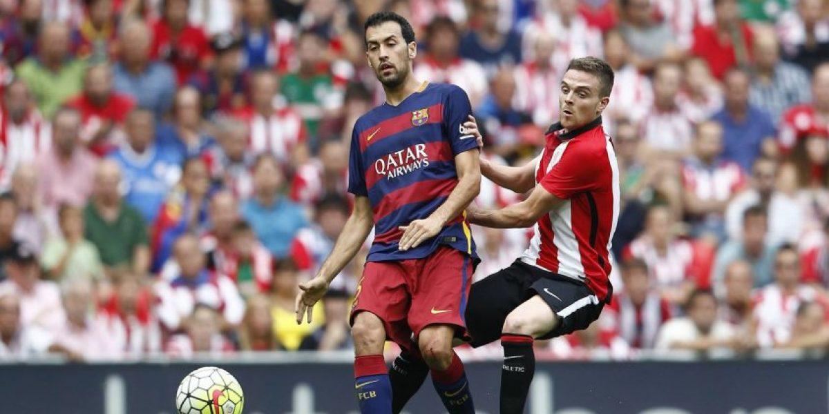 Bravo fue titular en la victoria del Barça sobre Athletic de Bilbao