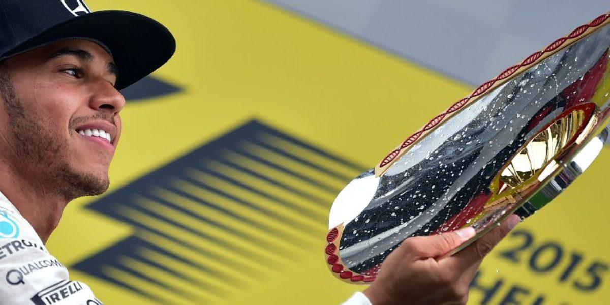 Fórmula 1: Hamilton se quedó con el GP de Bélgica tras arrasar de principio a fin