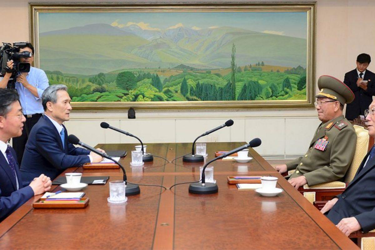 Los dos países rivales iniciaron negociaciones desde el sábado para intentar calmar la situación. Foto:AFP. Imagen Por: