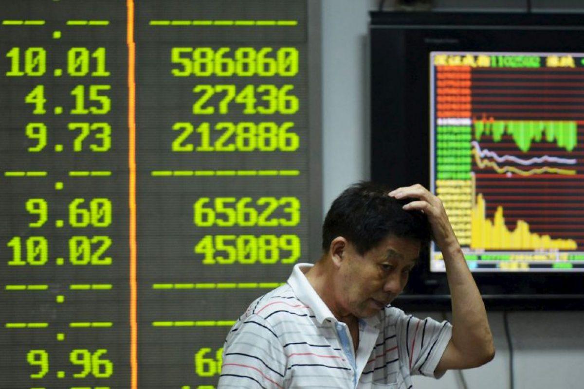 Este lunes 24 de agosto fue el peor día en el mercado chino desde 2007. Foto:AFP. Imagen Por: