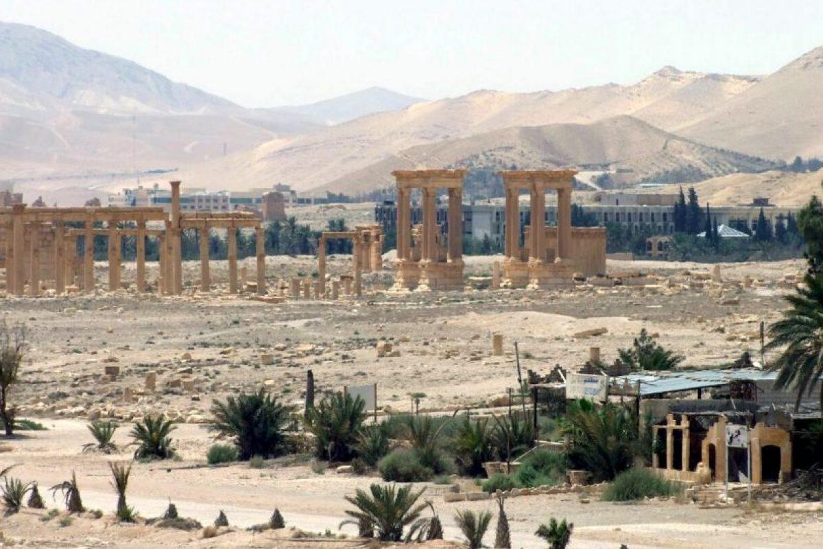 3. Palmira tiene más de dos mil años. Foto:AFP. Imagen Por: