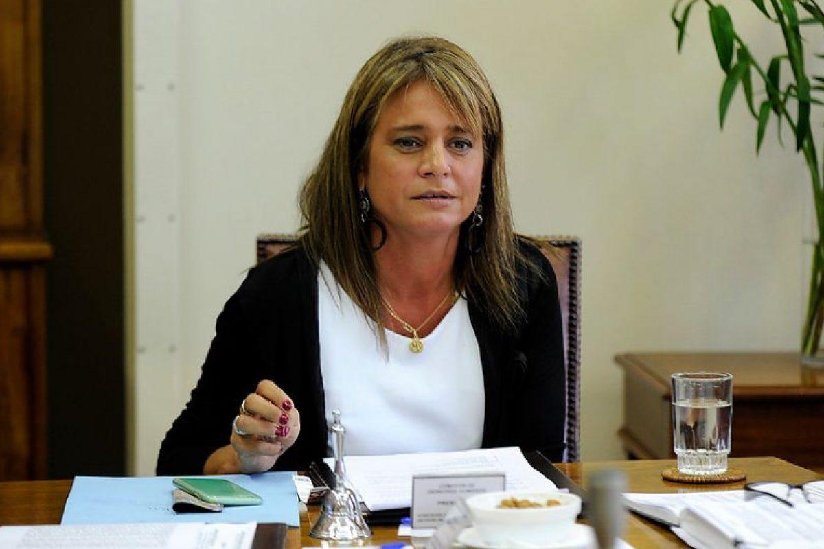 Jacqueline Van Rysselberghe emplazó a la Presidenta a denunciar si tiene datos de aborto Foto:Agencia Uno. Imagen Por: