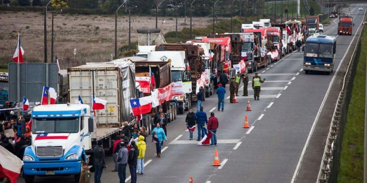 Caravana de camioneros: en Santiago aún no hay plan de contingencia para su llegada