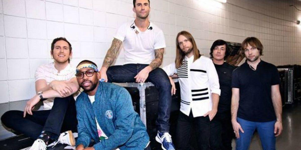 ¡Confirmado! Maroon 5 llegarán a Chile el 7 de marzo