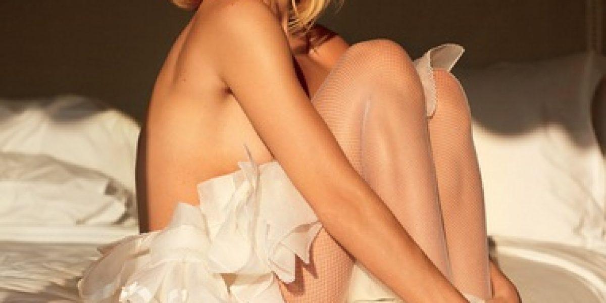 Kate Upton y Miranda Kerr posan en lencería para