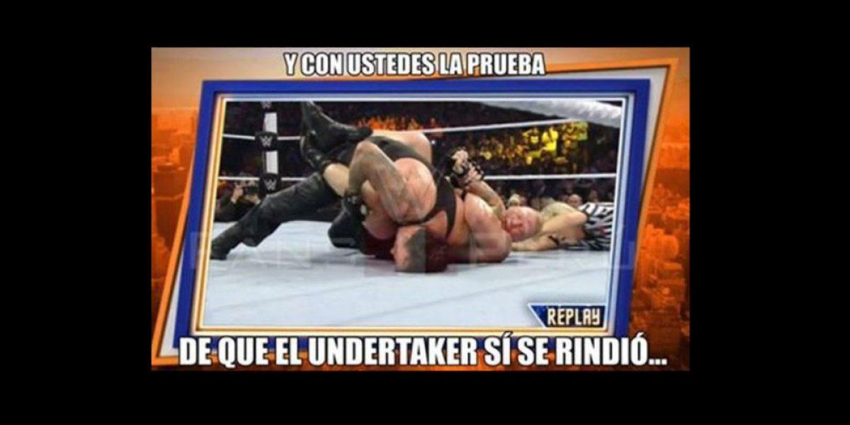 Internautas se burlan del rostro y el accidente de Undertaker en SummerSlam