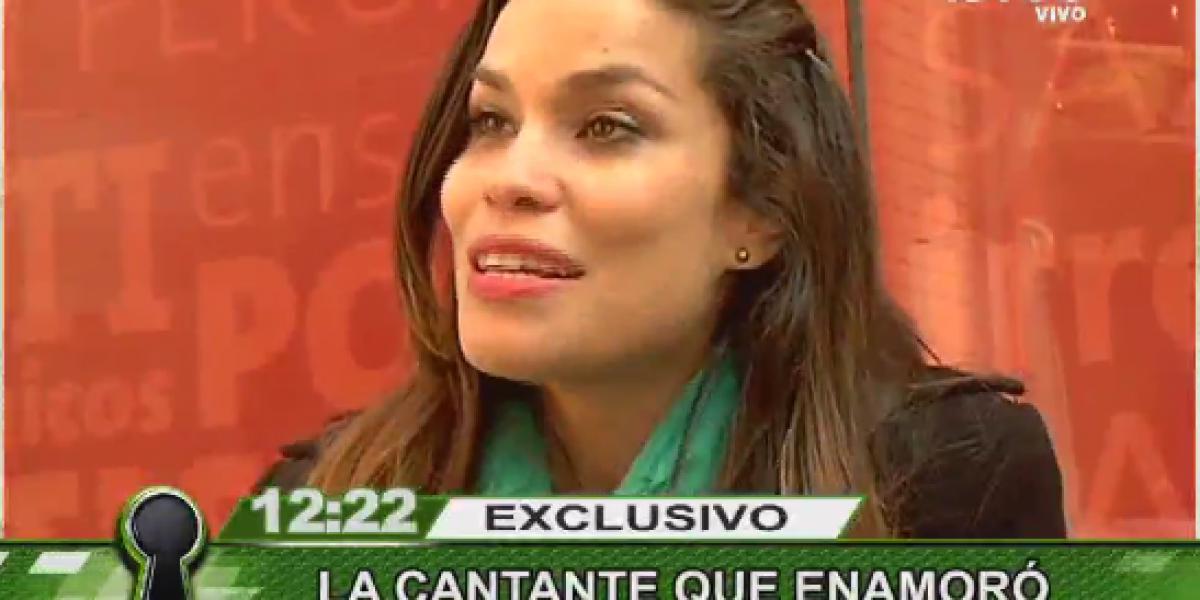 Cantante brasileña se refiere a relación con Juan Falcón: