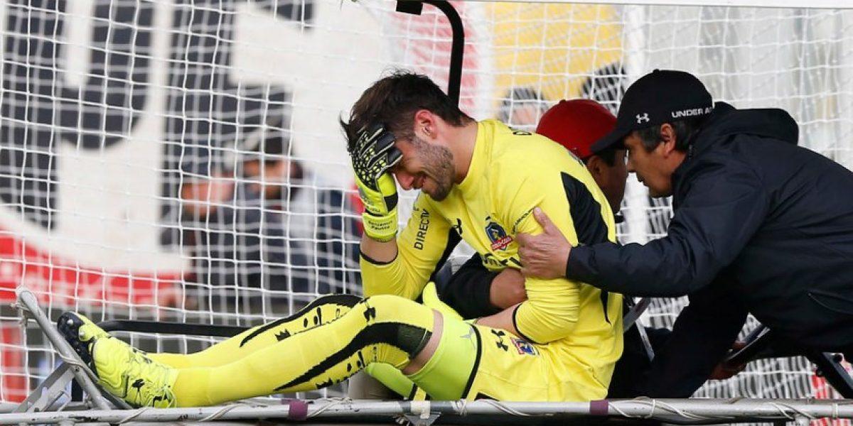 Tres bajas: Garcés fue liberado de la nómina de la Roja para amistoso con Paraguay
