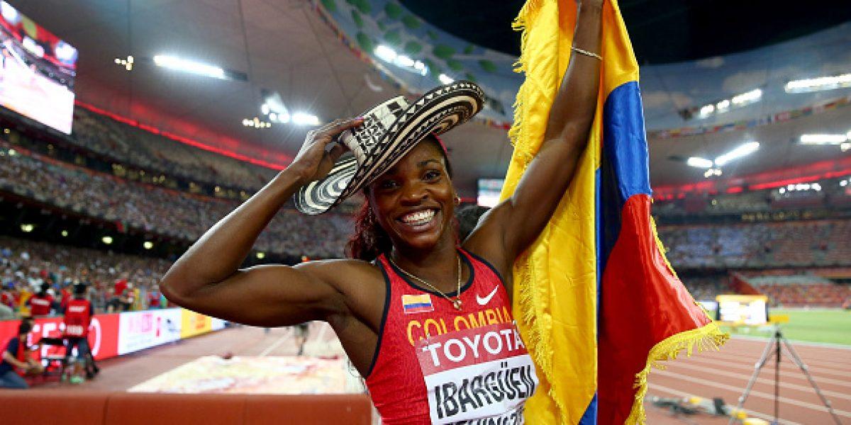 Caterine Ibargüen, la Shakira del deporte colombiano
