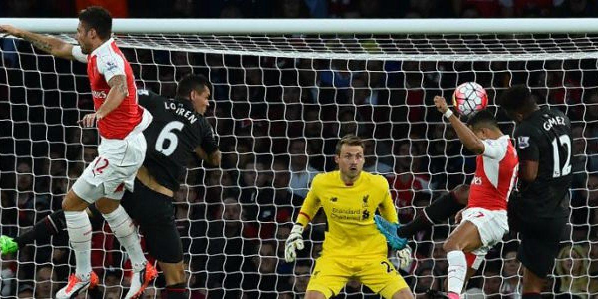 Así vivimos el agrio empate entre Arsenal y Liverpool por la Premier