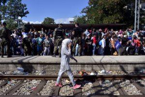 De acuerdo a la Agencia de la ONU para los Refugiados (ACNUR), en 2014 el número de refugiados a nivel mundial ascendió a 59.5 millones de persona, cifra que sobrepasa al número de desplazados de la Segunda Guerra mundial, que fue de aproximadamente 50 millones. Foto:Getty Images. Imagen Por: