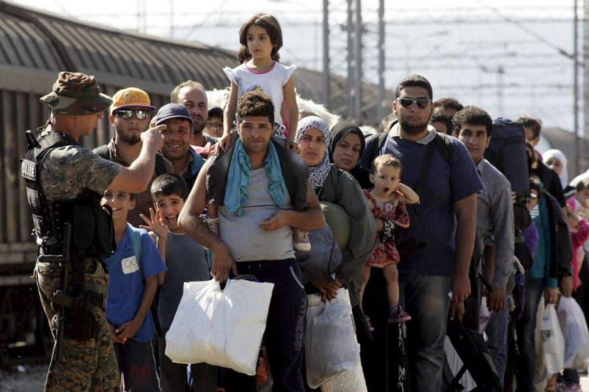 En total rescataron personas de 22 embarcaciones. Foto:Getty Images. Imagen Por: