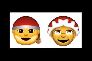 Abuelos navideños Foto:Emojipedia. Imagen Por:
