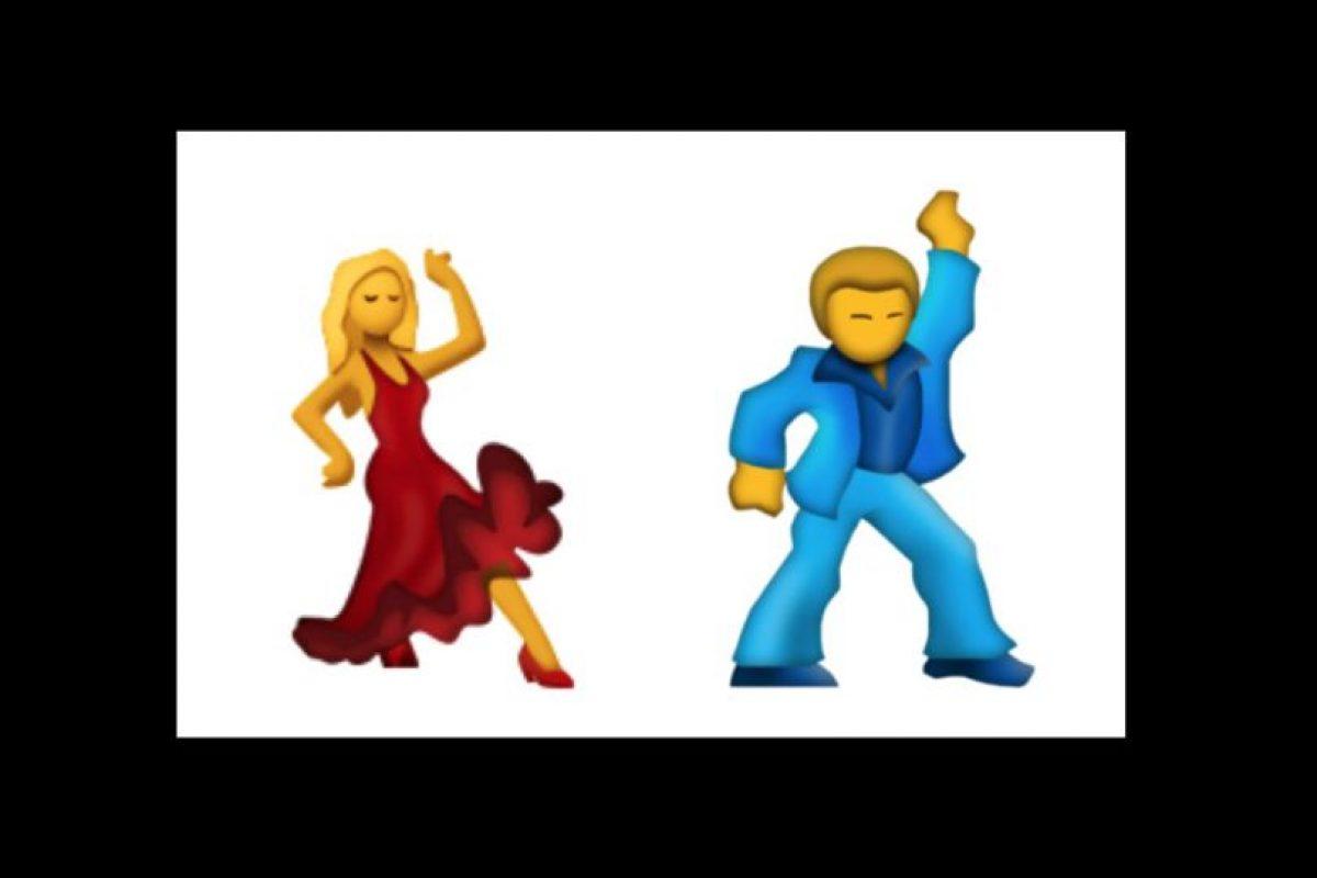 Hombre y mujer bailarines Foto:Emojipedia. Imagen Por: