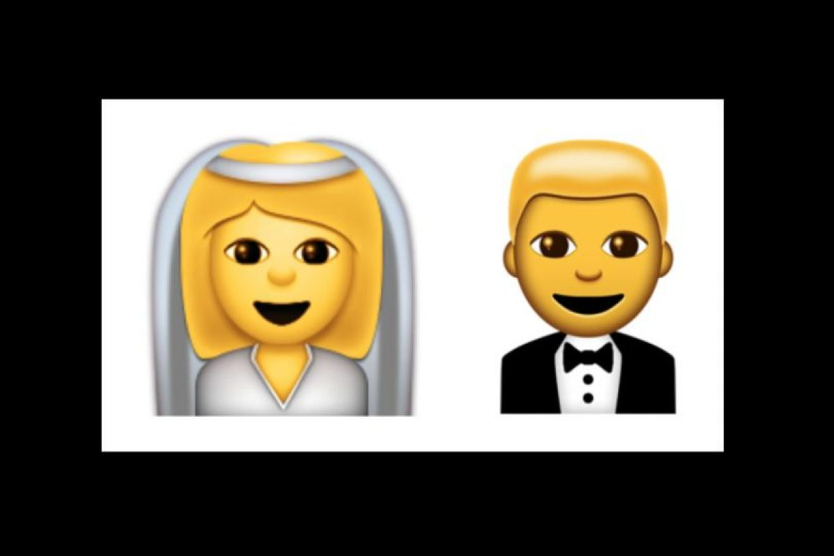 Esposos (novia y novio) Foto:Emojipedia. Imagen Por: