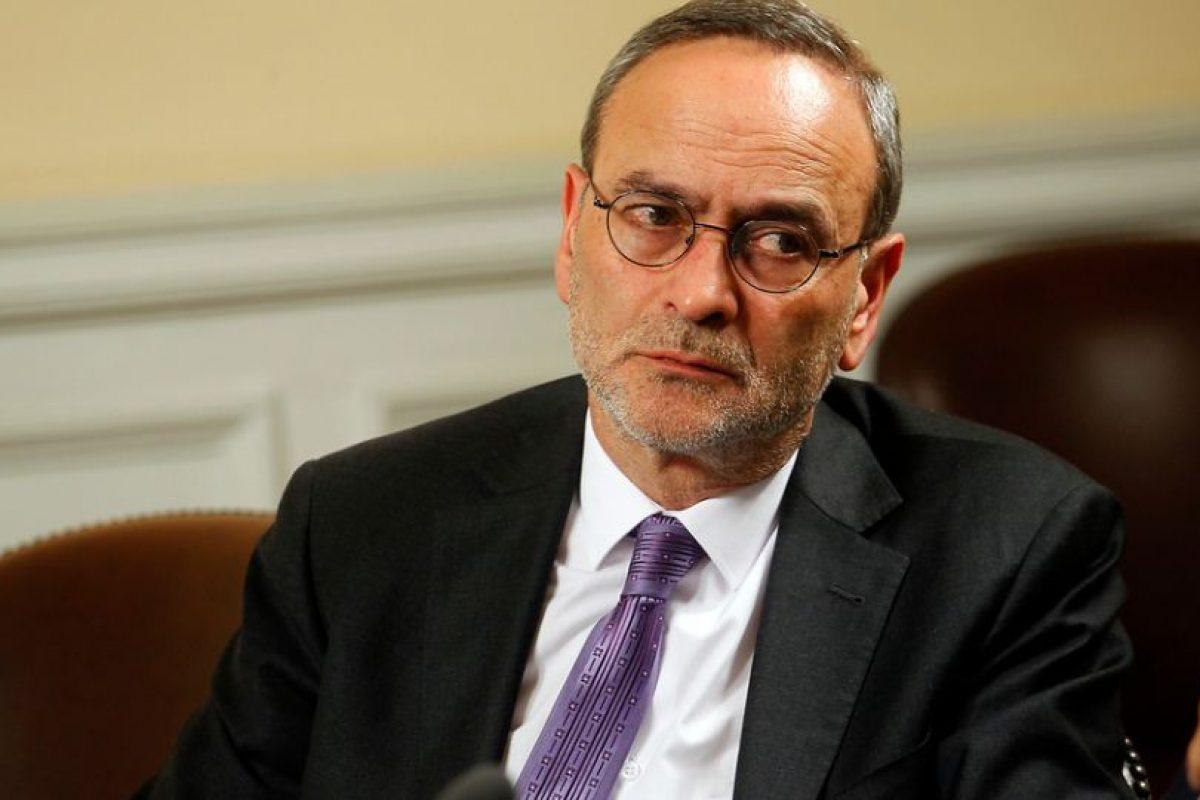 René Saffirio prefirió no referirse a la materia y anticipó que votará en Foto:Agencia Uno. Imagen Por: