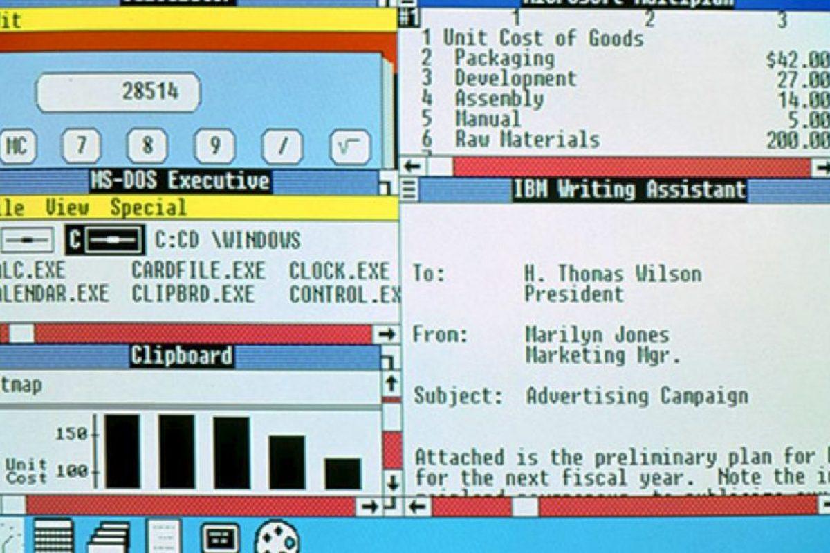 En 1987, la empresa crearía Windows 2.0 con 11 actualizaciones que terminarían hasta 1990 Foto:windows.microsoft.com. Imagen Por: