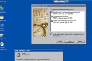 A partir de esta fecha, los usuarios de Windows esperaban cada año las nuevas mejoras en el sistema. En 1998 se anunció el mejorado Windows 98 Foto:windows.microsoft.com. Imagen Por: