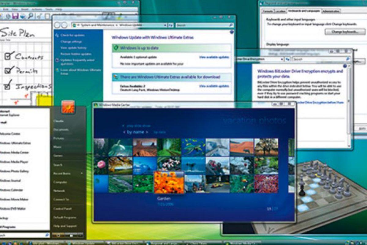 En el año 2006, Microsoft anunció la llegada del Windows Vista. Así es como lucía esta interfaz Foto:windows.microsoft.com. Imagen Por: