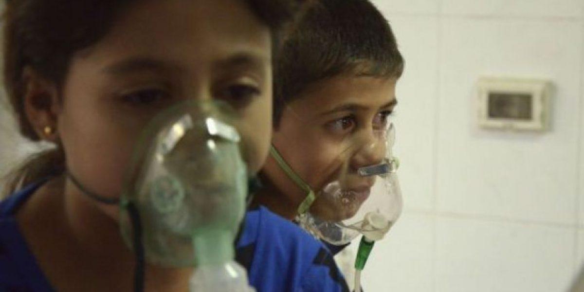 MSF dice que ha tratado a pacientes con síntomas de agentes químicos en Siria