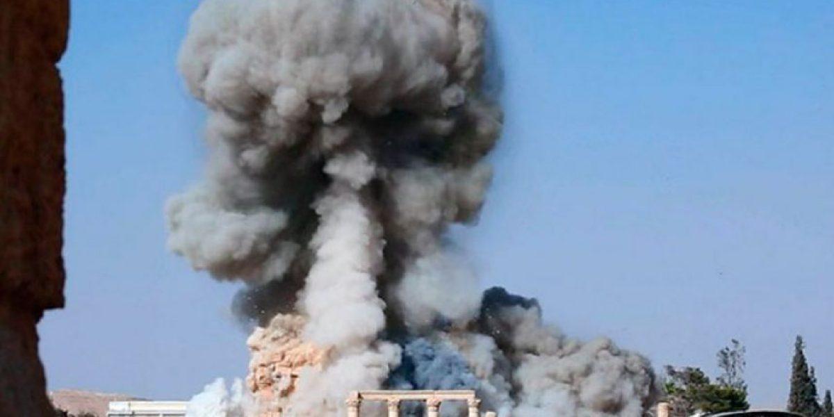 El EI difunde imágenes de la destrucción total del histórico templo de Baal